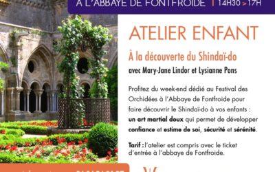 Ateliers Shindaï-do Enfants à l'Abbaye de Fontfroide